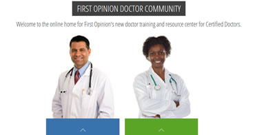 First Opinion Doctor Training