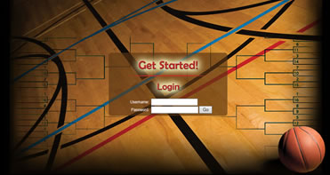 Interactive March Madness Bracket Contest Customized for Farnsworth Wholesale Company