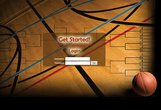 Screenshot of interactive game website